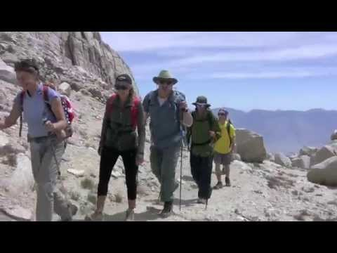 Mt Whitney Mountaineer's Route