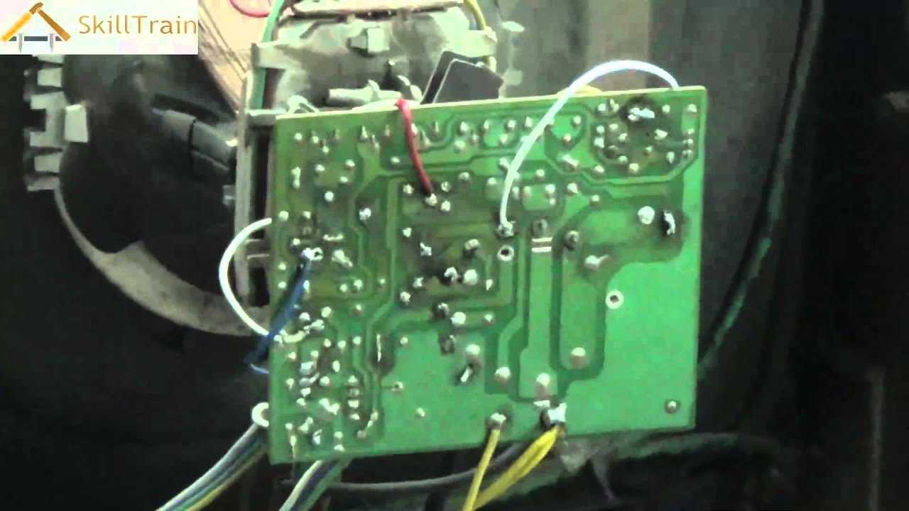 Identifying and rectifying faults on a PCB of a Colour TV - Part 2 ...