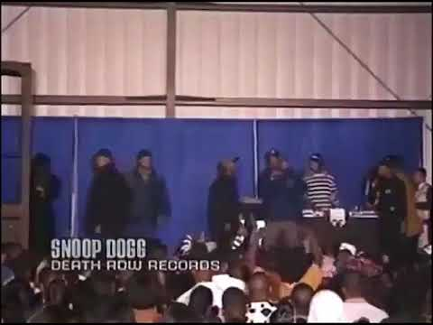 Snoop Dogg and Dr.Dre diss Eazy-E during Death row concert