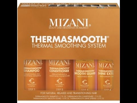 Mizani Thermasmooth Thermal Smoothing System On My 3 Year Relaxer