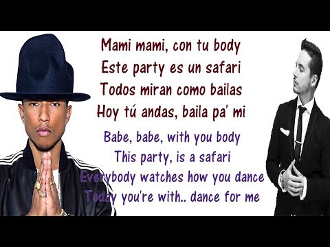 J Balvin - Safari Lyrics English And Spanish - Translation & Meaning - Ft Pharrel Williams & BIA