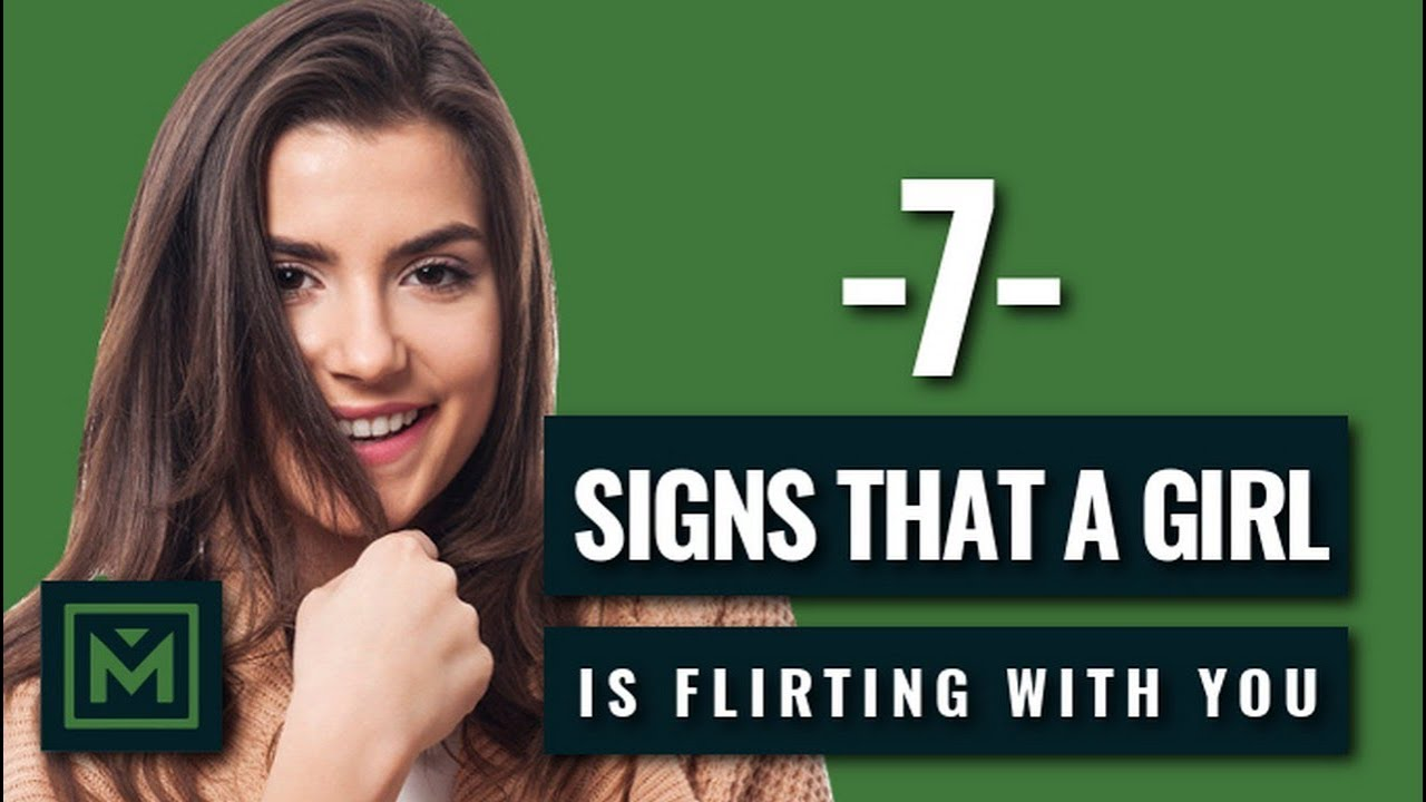 Women flirting signals