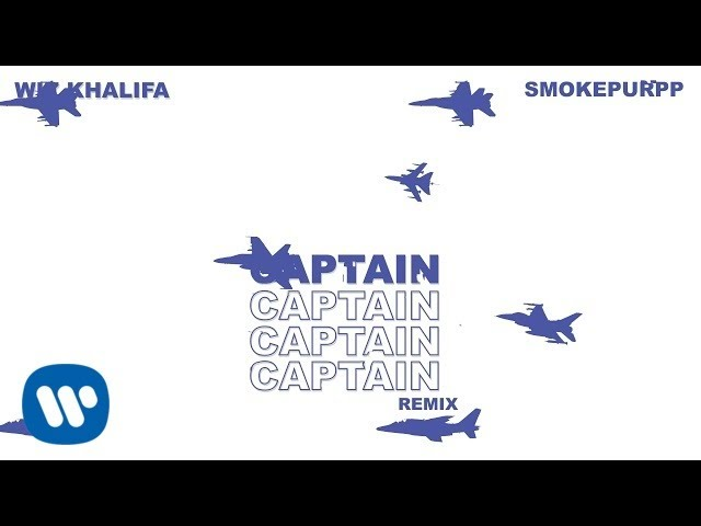 Wiz Khalifa - Captain Remix feat. Smokepurpp [Official Audio]
