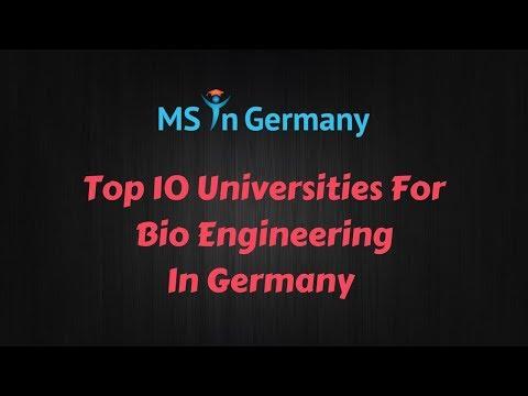 Top 10 Universities For Bio Engineering In Germany (2018) - - MS in Germany™