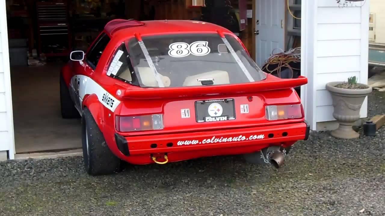 1979 EP Mazda RX7 Race Car - YouTube
