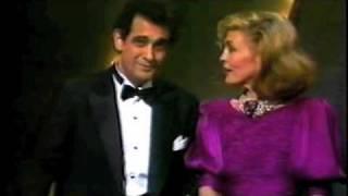 Plácido Domingo - Oscars 1984 presenting best foreign language film