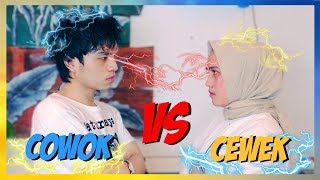 Video CEWEK vs COWOK (ft. Ashilla Sikado & Netta Arvin) download MP3, 3GP, MP4, WEBM, AVI, FLV April 2018