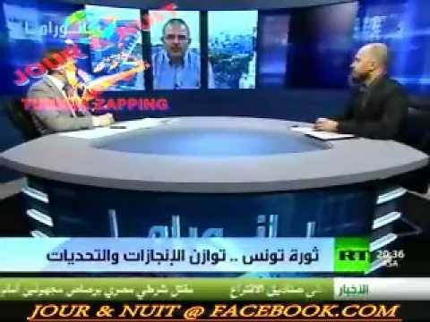 PANORAMA SUR RUSSIA TODAY A PROPOS DE L'APRES REVOLUTION TUNISIENNE : TRES IINTERESSANT