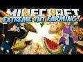 Minecraft EXTREME TNT FARMING MOD Explosive Carrots, Potatoes More Mod Showcase