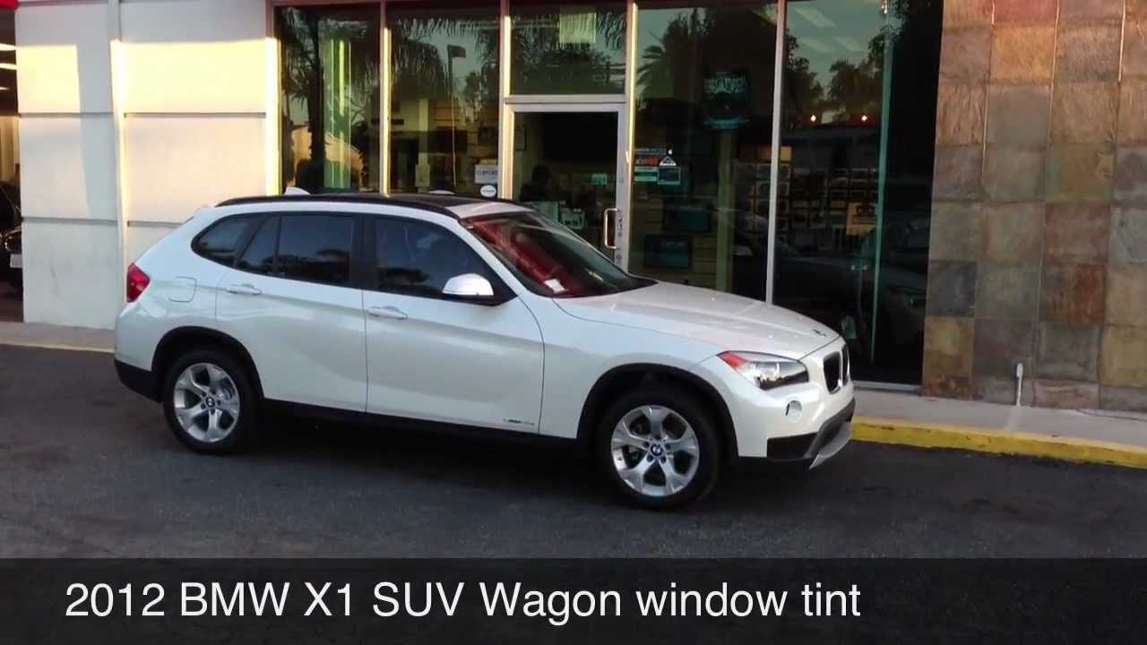 2012 Bmw X1 Window Tint And Uv Protection Beverly Hills