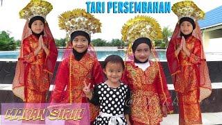 Tari persembahan melayu makan sirih - traditional dance of indonesia - anak paud @LifiaTubeHD