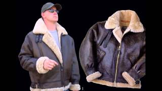 men s b3 sheepskin bomber jacket american mystique