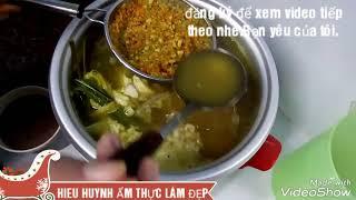 Hướng dẫn nấu bún cá miền tây (bún nước lèo)[Nhật Ký Gia Đình]