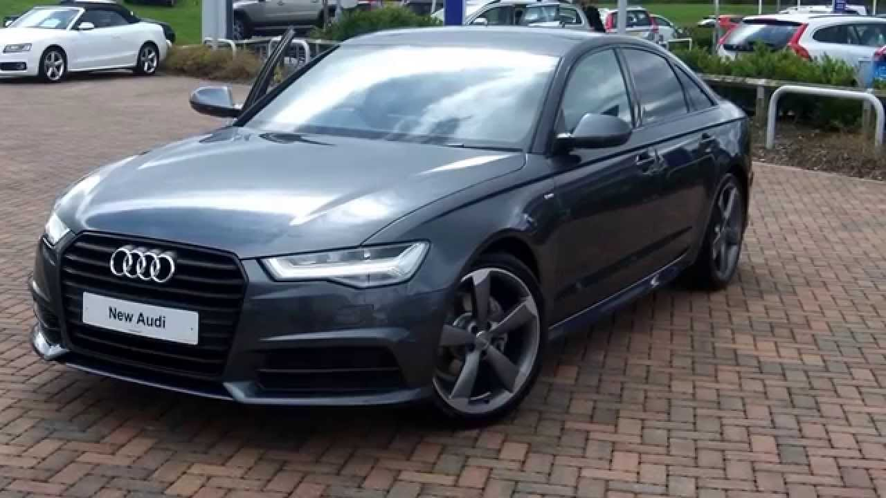 A6 BLACK EDITION 2.0TDI ULTRA S TRONIC - YouTube