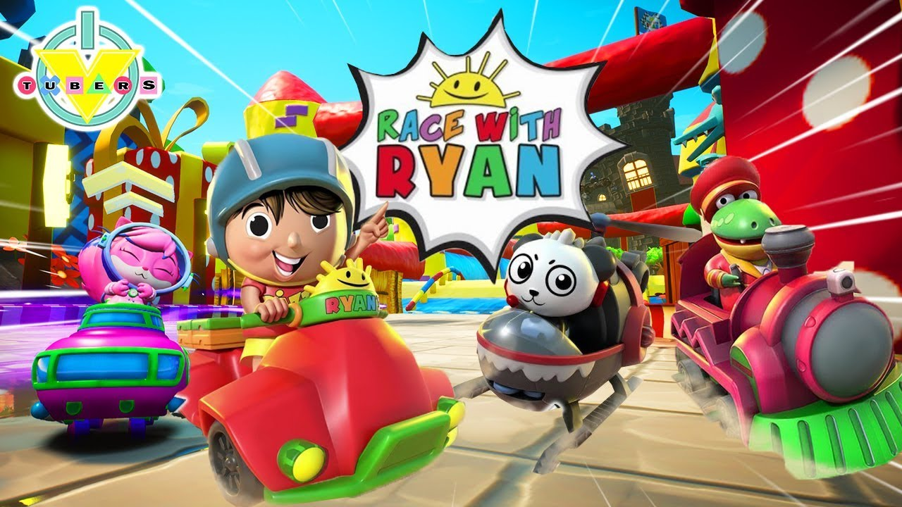 RACE WITH RYAN CHALLENGE! Vtubers Racing Competition for 1st Place! Let's Play Race with Ryan - YouTube
