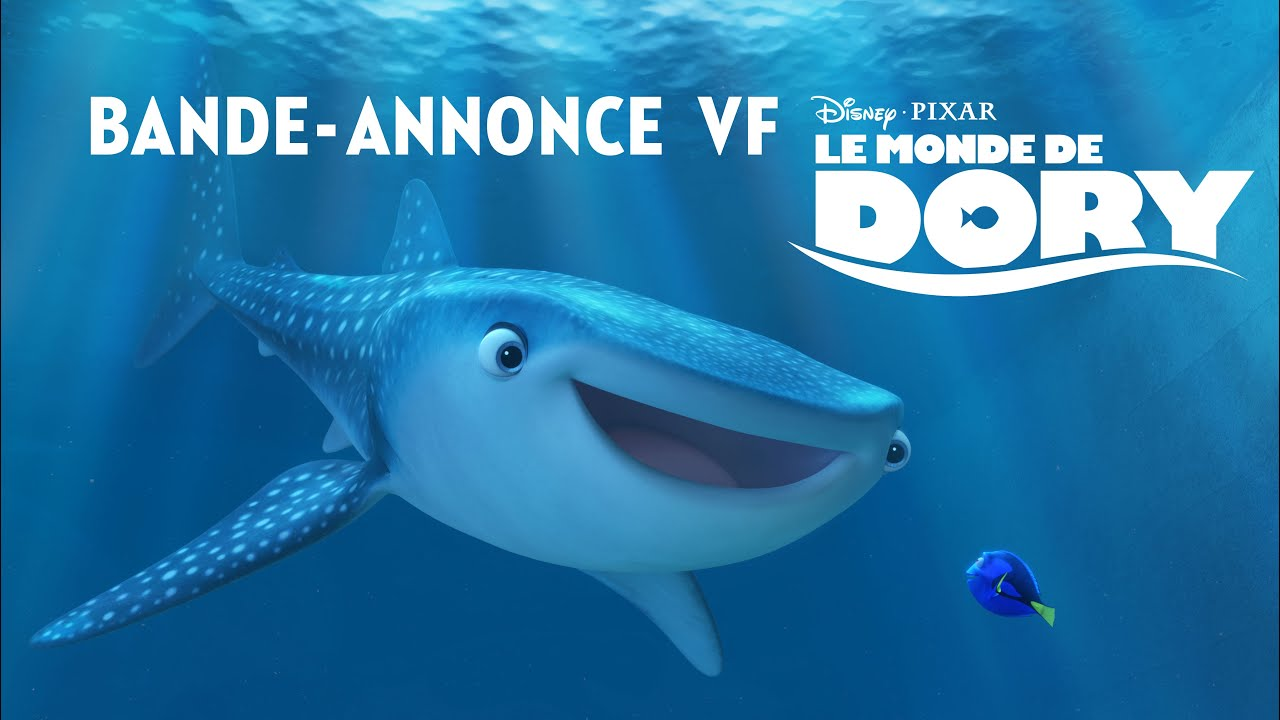 le monde de dory bande annonce 2 vf disney be youtube. Black Bedroom Furniture Sets. Home Design Ideas