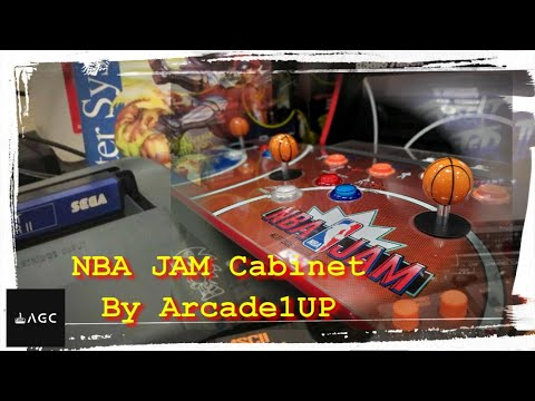Arcade Games - Arcade1UP NBA JAM Cabinet from AGC Retrogaming