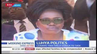Leaders take Raila Odinga to task