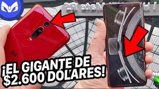 EL HUAWEI DE €2095 Euros PORSCHE HUELLAS DACTILARES EN PANTALLA