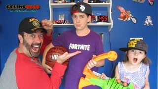 Fortnite (12 year old) Ninja YouTube Story - It Happened by Mistake - We're Not Relevant