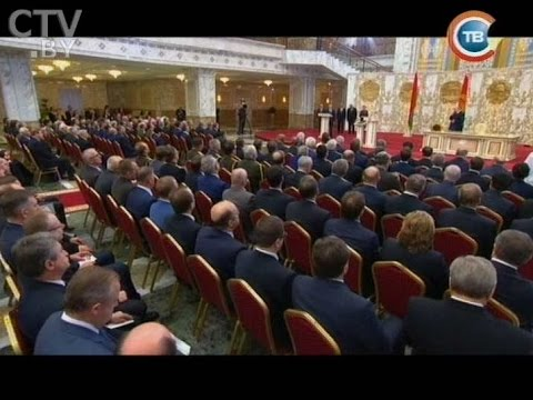 Инаугурация Президента Республики Беларусь Александра Лукашенко 06.11.2015