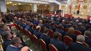 Полная видеоверсия. Инаугурация Президента Республики Беларусь Александра Лукашенко 06.11.2015