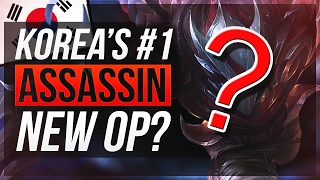 NEW #1 ASSASSIN IN KOREA TO HARD CARRY - League of Legends