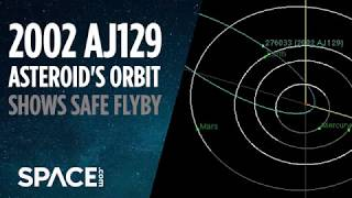 Asteroid 2002 AJ129 - Orbit Shows It Will Safely Fly By