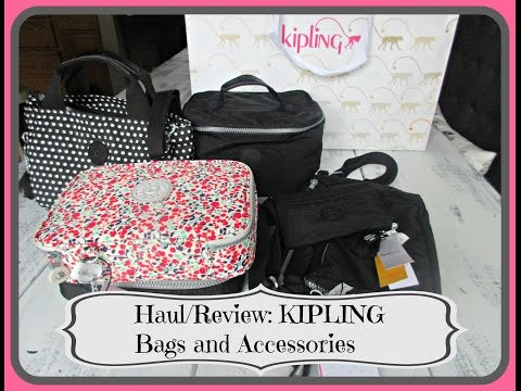 HAUL/REVIEW: Kipling Bags and Accessories - aSimplySimpleLife Haul