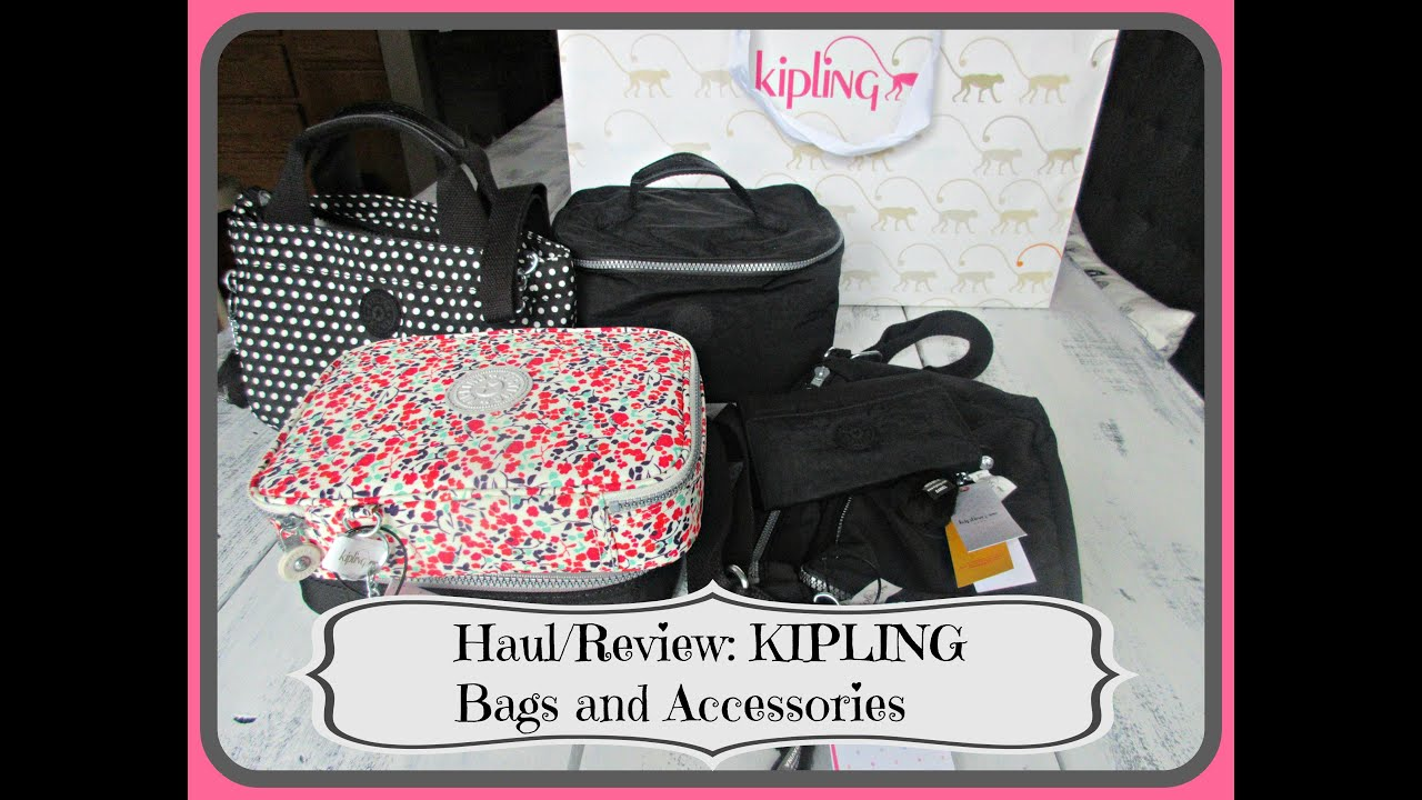 Haul Review Kipling Bags And Accessories Asimplysimplelife