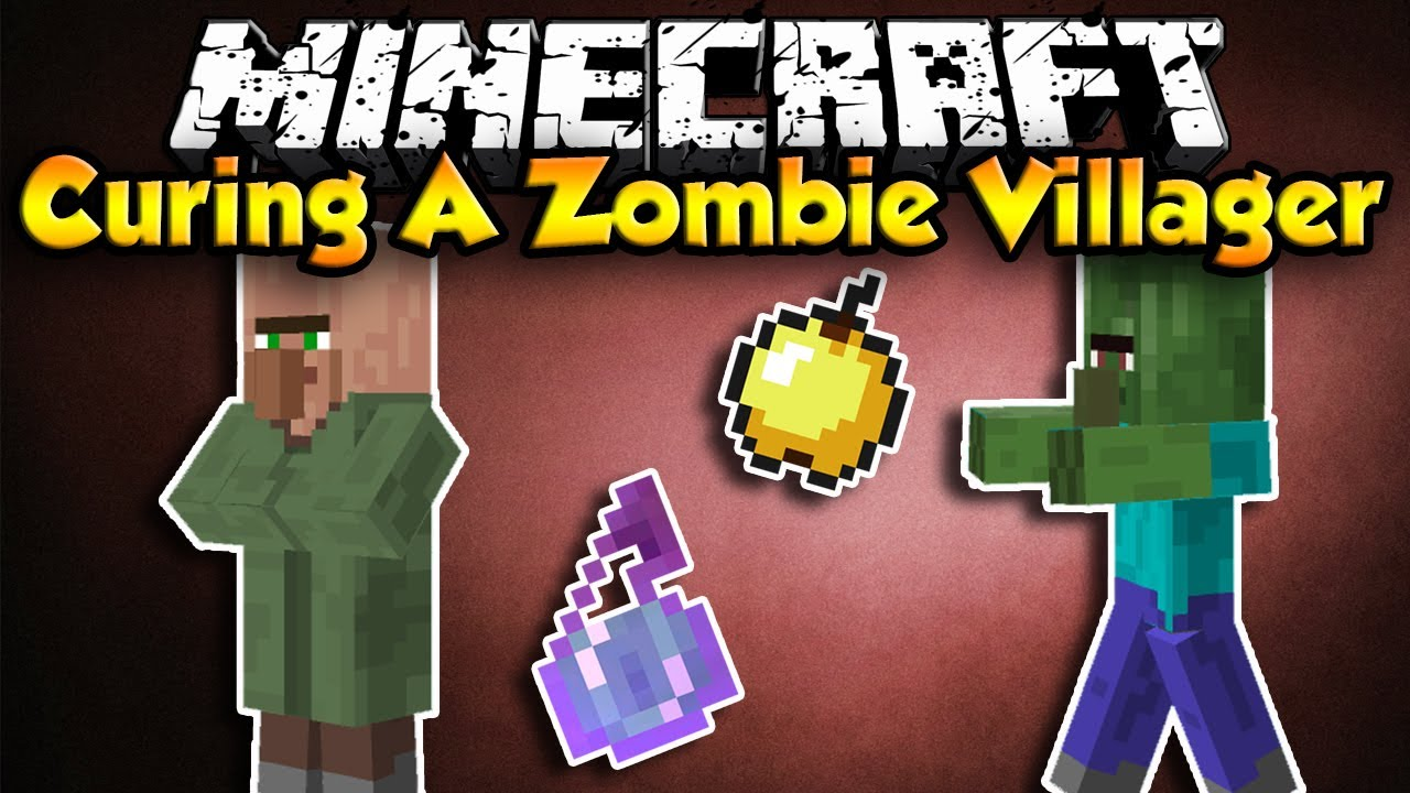 How To Cure A Zombie Villager!