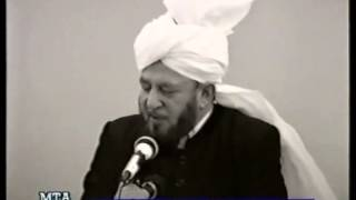 Friday Sermon 13 January 1989