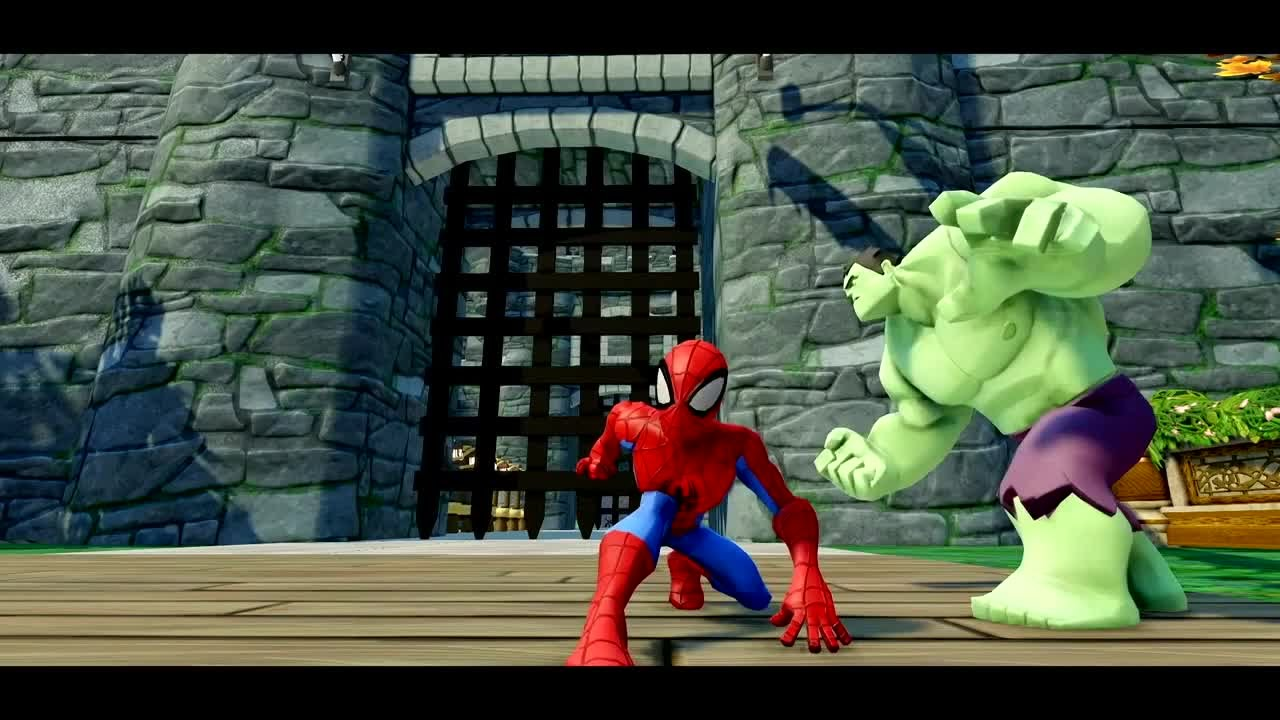 Juguetes Para Nios Hulk y Spiderman  Veneno Juegos de