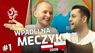 KUREK i FABIAŃSKI wpadli na meczyk AUSTRIA–POLSKA (2008)
