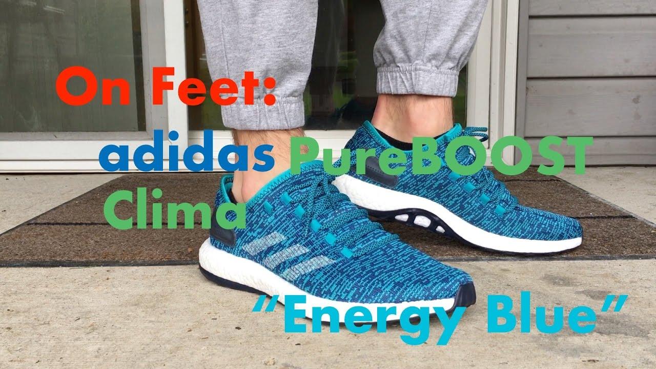 adidas pure boost clima blue