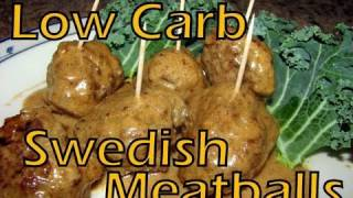 Atkins Diet Recipes: Low Carb Swedish Meatballs (if*)