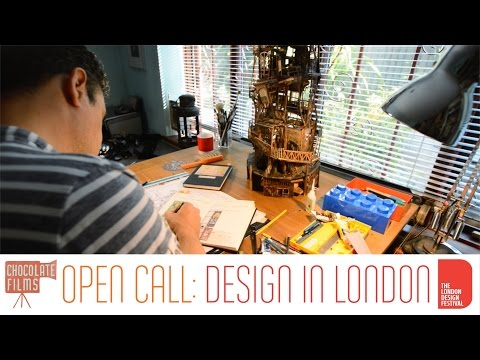 Jaimie Todd, who designs sets for West End theatre productions - Londoner #42