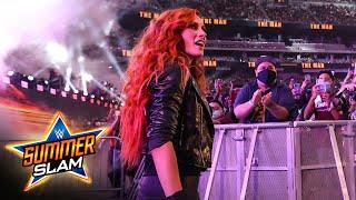 Becky Lynch makes shocking SummerSlam return SummerSlam 2021 WWE Network Exclusive