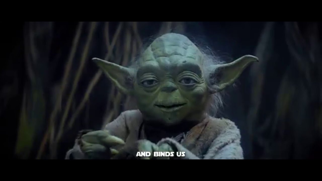 Master Yoda Quote Ally Star Wars V The Empire Strikes Back