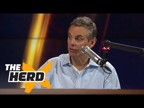 Colin picks his all-NBA first team and guess who beat out Kevin Durant | THE HERD