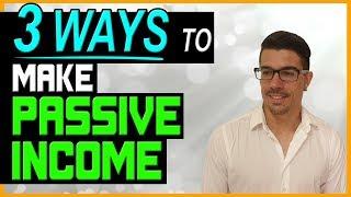 3 طرق مجربة لكسب الدخل السلبية على الإنترنت - لا BS!