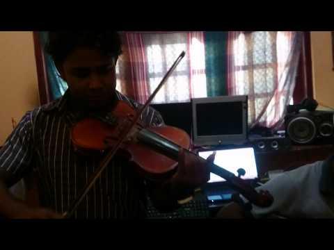 Ninda nena melody by violin