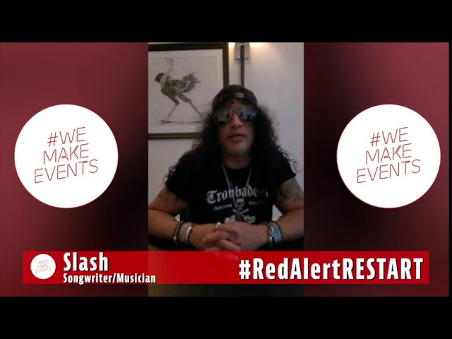 Slash supports #WeMakeEvents and the Events Industry Supply Chain