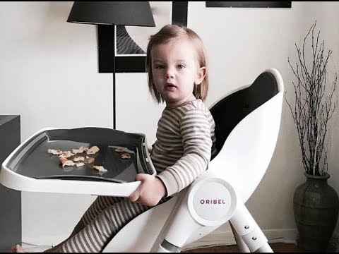 Oribel Cocoon High Chair - YouTube