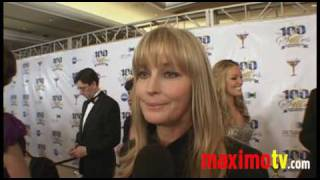 BO DEREK (Still a 10) Interview at