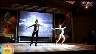 World Salsa Champions Rafael - Carine Dance Performance | EDF-2018
