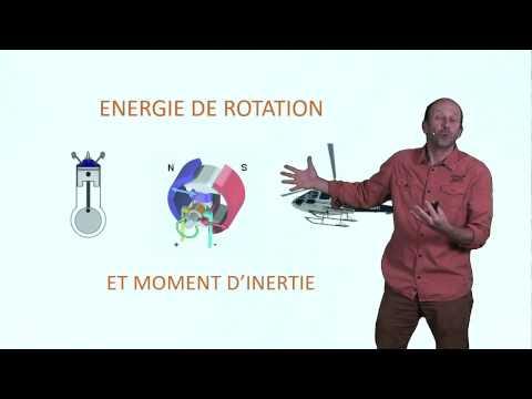 Energie de rotation et moment d'inertie