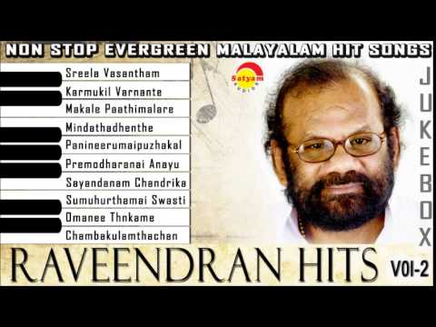 Evergreen Malayalam Songs | Raveendran Vol-2 Audio Jukebox