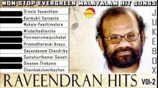 Evergreen Malayalam Songs | Raveendran Vol-2 Audio Jukebox