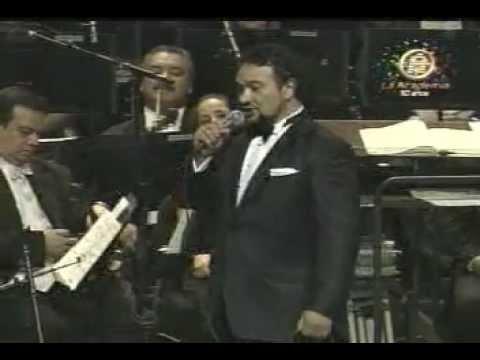 Ramon Vargas - Mexico-Malageña-Cucurrucucu Paloma-Tu Enamorado-Serenata Huasteca